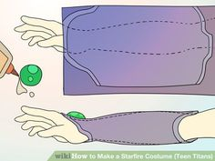 Image titled Make a Starfire Costume (Teen Titans) Step 5 More