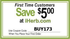Get iHerb 5 Off First Order.Iherb is a world-class online store, supplying a vast selection of brand name natural products.Visit Website ---> http://iherb-5-off-first-order.blogspot.com