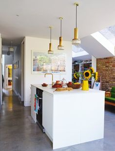 Homes: how a rodent infestation turned out to be a blessing in disguise Luxury Kitchen Design, Best Kitchen Designs, Luxury Kitchens, Cool Kitchens, Living Room Kitchen, New Kitchen, Kitchen Decor, Kitchen Ideas, Hidden Kitchen
