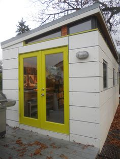 Modern-Shed art studio