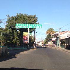 Ciudad cafetalera en El Salvador.