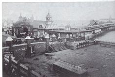 Southend Pier c1905. London Places, Conservation, Old Photos, Paris Skyline, Shots, Sea, History, Travel, Vintage