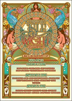 2011 Poster - Isle of Wight Festival 9th - 12th June 2016 Book On the water Luxurious Nautical Festival Accommodation - Next door to the Festival Site. Salamander will be in the Island Harbour Marina. Guests will have full use of the marina and the award winning Breeze Restaurant and Bar. Details http://www.thesalamandersailingadventure.com/#!isle-of-wight-festival-accommodation/env5z/