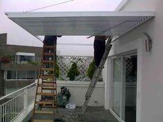 Resultado de imagen para techo patio policarbonato