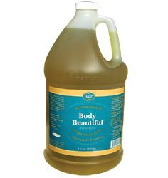 Baar Products' Exclusive Body Beautiful Massage Oil and Skin Lotion is made from pure Extra Virgin Olive Oil along with Peanut Oil and Lanolin. Natural Jasmine Fragrance.