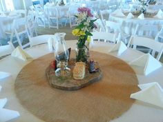 Center Pieces for a special flair, simple but elegantly perfect