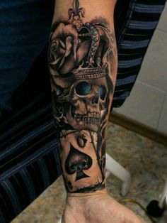 Small and Large tattoos ideas: Source Source Source Source Source Source Source Source Source Source . Skull Tattoos, Forearm Tattoos, Body Art Tattoos, Tattoo Drawings, Hand Tattoos, Sleeve Tattoos, Tatoos, Tattoo Bein, Sick Tattoo