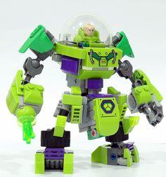 Going Bald, Lego Mechs, Lex Luthor, Lego Dc, Lego Parts, Man Of Steel, Superman, Best Friends, Lego Ideas