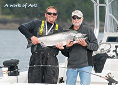 A work of Art! Arthur Ratte caught this beautifully thick 31-pound tyee on the west side of Snake Rock, Haida Gwaii, helped by guide Sean Conway. http://www.peregrinelodge.com/blog.php?p=241