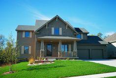 Craftsman Plan: 2,282 Square Feet, 4 Bedrooms, 2.5 Bathrooms - 402-00475