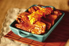 Five ingredients is all you need to prepare this delicious Del Monte recipe! Del Monte Recipes, Spareribs Recipe, Pork Recipes, Cooking Recipes, Good Food, Yummy Food, Weekly Meal Planner, Pinoy Food, Spare Ribs