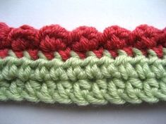 This is a really nifty little pattern for making a neat bobble-shell edging. I created it to finish off the top and bottom edges of my crochet Wrist Warmers, but it could be used along any edge that needs a...