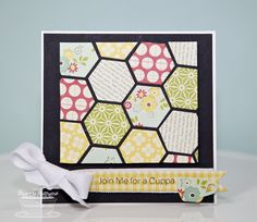 Hexagon Delight by BC Sherrie - Cards and Paper Crafts at Splitcoaststampers