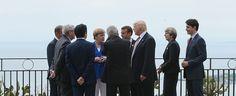 SCRIVOQUANDOVOGLIO: IL G7 A TAORMINA (26/05/2017)