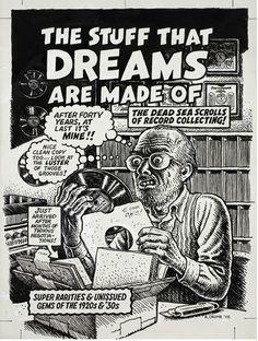 Crumb,the Black & White Drawing