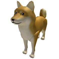 Customize your avatar with the Attack Doge and millions of other items. Mix & match this gear with other items to create an avatar that is unique to you! Puppy Care, Pet Puppy, Dog Cat, Roblox Roblox, Roblox Memes, Online Pet Supplies, Dog Supplies, Doge, Roblox Animation
