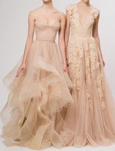 Reem Acra Resort 2013 #wedding gowns
