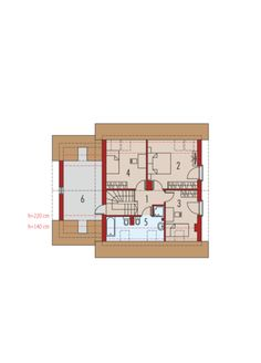 Projekat kuća na sprat Planer, House Plans, Floor Plans, House Design, How To Plan, My Favorite Things, House Styles, Selection, Jazz