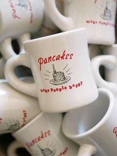 Pancakes Make People Happy Mug