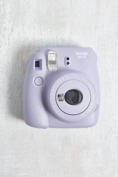 Fujifilm Instax UO Exclusive Mini 9 Lavender Instant Camera - Instax Camera - ideas of Instax Camera. Trending Instax Camera for sales. Polaroid Instax Mini, Fujifilm Instax Mini, Poloroid Camera, Instax Mini 9, Polaroid Camera Colors, Camara Fujifilm, Urban Outfitters, Dslr Photography Tips, Travel Box