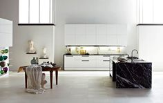 Dada  Cucine  Nuvola  Integrated  Natural  Disparate elements