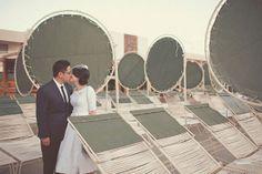 Palm Springs Wedding: Lisa + Alan