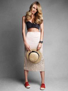 Vogue Australia 'Sweet as Candi' Editorial Stars Candice Swanepoel