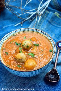 zupa, krem zupa, dynia, pomidory, kumin, obiad, bernika, kulinarny pamietnik Food Ideas, Ethnic Recipes