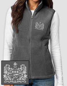 Want a fleece vest so bad. Here's a special one for all my Alpha Xi Delta's! Hurry and order before 12/23.