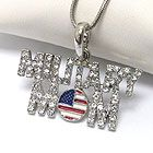 military mom necklace · Ashas Jewelrybox · Online Store Powered by Storenvy
