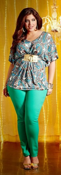 See more Adorable plus size dress with gold heels