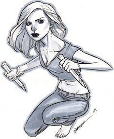 Buffy CCC Commission by jeffwamester.deviantart.com on @deviantART