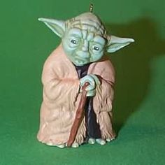 Star Wars - Yoda - 1997 Hallmark Ornament