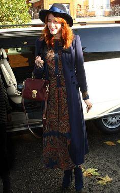 Florence WelchWhat: Vilshenko dress Arriving at BBC Radio 1, LondonWhen: November 25, 2011
