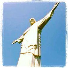 Christ the Redeemer, Rio de Janeiro, Brazil. South America travel photographs. www.scrapmymap.com