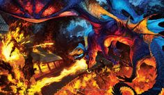 Fantastic furries and dragons from Kristen Plescow