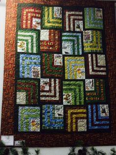 Around The Corner Quilt - 2014 MN Shop Hop Fabric