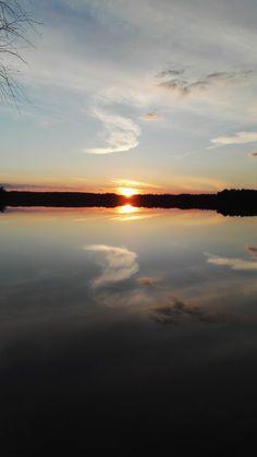 #auringonlasku #järvi #sunset #lake #Finland Valokuva - Google Kuvat