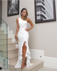 Mi estilo en blanco #vestirelegantemujer