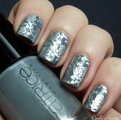 <3 this...Catrice London's Weather Forecast and RA plate 109 with China Glaze Millennium