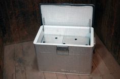 I need this for the patio!!!  Vintage Aluminum Cooler by territoryhardgoods on Etsy, $55.00