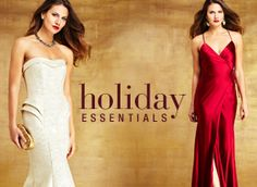 Everything you need to make a stunning entrance for any holiday party. Idelli.com