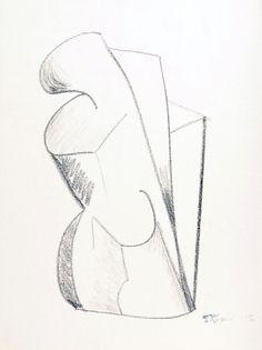 Senza titolo 1985, disegno in carboncino su carta, Tadeusz Koper http://musapietrasanta.it/content.php?menu=artisti