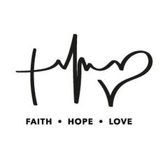 Image result for faith hope love heartbeat tattoo