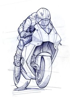 RR TTXGP zero carbon fuel Grand Prix Motorcycle - Grantham-based Evo Design Solutions was the first company to commit to the TTXGP zero carbon fuel Grand Prix. The race is to be held on the sa. Sketches, Bike Sketch, Art Drawings, Bike Art, Motorcycle Drawing, Bike Drawing, Drawing Sketches, Motorbike Drawing, Industrial Design Sketch
