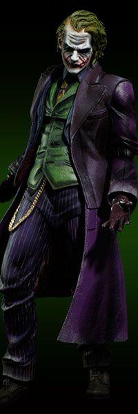 The Joker - The Dark Knight (PLAY ARTS KAI) $64.99