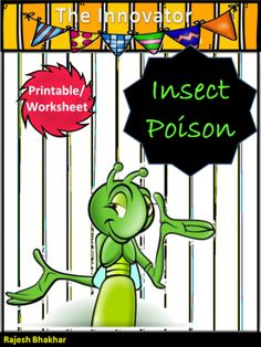 Insect Poison from Innovator on TeachersNotebook.com (12 pages)