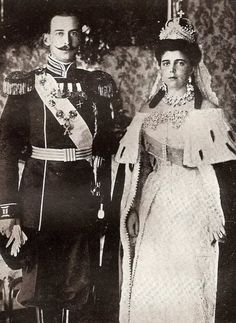 Wedding of Grand Duchess Alexandra Georgievna (born Princess Alexandra of Greece and Danemark) and Grand Duke Paul Alexandrovitch- 1889