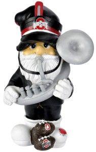 "Ohio State Buckeyes Garden Gnome 11"" Thematic - Second String - BiggSports.com"