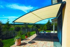 Patio Awning Ideas With Most Popular Design Makeovers And Best Roofing  Materials.